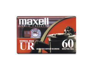 maxell 109010 60 Minute Normal Bias Audio Tape 1 Pack