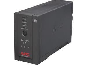 APC BK500BLK 500 VA 300 Watts UPS