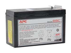 APC UPS Battery Replacement for APC UPS Model BE550G and select others (APCRBC110)
