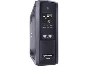 CyberPower BRG1350AVRLCD 1350 VA / 810 Watts, 12 Outlets, AVR, Intelligent LCD Mini-Tower UPS System