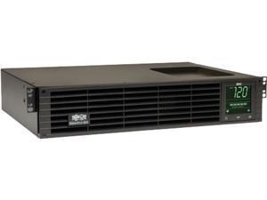 Tripp Lite SMART1500RM2U 1500VA 1350W UPS Smart Rackmount AVR LCD 120V USB DB9 SNMP 2URM, 8 Outlets