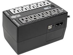 Tripp Lite Internet Office 120V 600 VA 300 Watts Standby UPS, Ultra-Compact Desktop, USB (INTERNET600U)