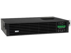 Tripp Lite Smart Online 1.5kVA UPS Back Up, Double-Conversion, 120V 1.35kW 2U Rack / Tower, Extended Run, Network Card Slot, LCD, USB, DB9 (SU1500RTXLCD2U)