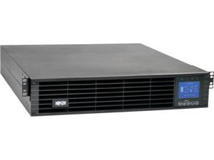 Tripp Lite 3kVA 2.7kW Smart Online UPS, Double Conversion 208/240V, Extended Run, 2U Rack Mount, Energy Star, LCD, USB, DB9 (SU3000LCD2UHV)