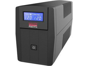 MARUSON PRO-2000LCD 2000 VA 1200 Watts 8-Outlet Line-Interactive Uninterruptible Power Supply (UPS) (Power Pro Series)