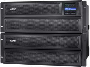 APC UPS, 2000 VA Smart-UPS Sine Wave, Short Depth UPS Battery Backup with Extended Run Option, Network Management Card, Tower/4U Rack Convertible, Line-Interactive, 120V (SMX2000LVNC)