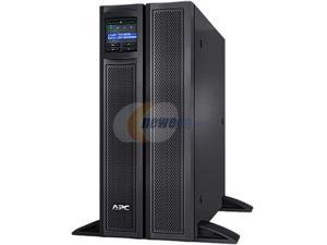APC UPS, 3000 VA Smart-UPS Sine Wave, Short Depth UPS Battery Backup with Extended Run Option, Network Management Card, Tower/4U Rack Convertible, Line-Interactive, 120V (SMX3000LVNC)