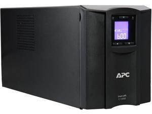 APC SMC1000C 1000 VA 600 Watts 8 Outlets Pure Sinewave Smart-UPS with SmartConnect (Replaces SMC1000)