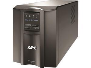 APC SMT1000C 1000 VA 700 Watts 120V 8 Outlets Pure Sinewave Smart-UPS with SmartConnect (Replaces SMT1000)