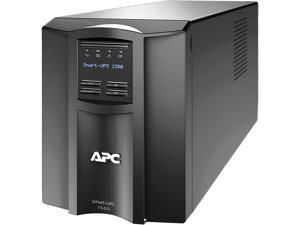 APC SMT1500C 1440 VA 1000 Watts 120V 8 Outlets Pure Sinewave Smart-UPS with SmartConnect (Replaces SMT1500)