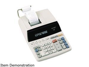 Sharp EL1197PIII EL1197PIII Two-Color Printing Desktop Calculator, 12-Digit Fluorescent,Black/Red