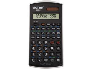 Victor 930-2 Scientific Calculator, 10-Digit LCD