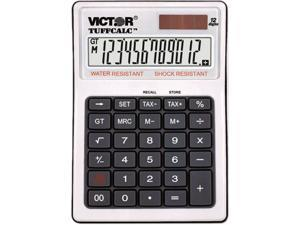 Victor 99901 12 Digit Water and Shock Resistant Calculator with Tax Keys