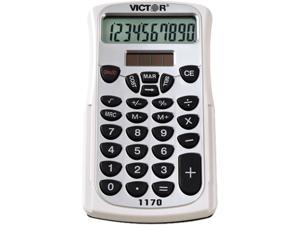Victor 1170 Handheld Business Calculator w/Slide Case, 10-Digit LCD