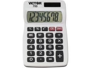 Victor 700 8-Digit Calculator, 8-Digit LCD
