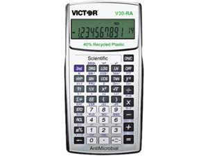 Victor V30RA Scientific Recycled Calculator w/AntiMicrobial Protection