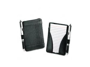 Oxford 63519 At-Hand Note Card Case Holds & Includes 25 3 x 5 Ruled Cards, Black