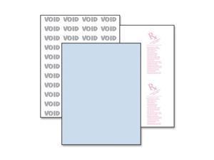 Paris Business Products DocuGard Prescription/Medical Security Paper, 8 1/2 x 11, Blue, 500 Sheets/RM