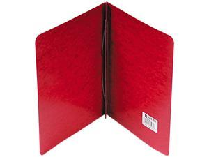"""Acco 25979 Pressboard Report Cover, Prong Clip, Letter, 3"""" Capacity, Red"""
