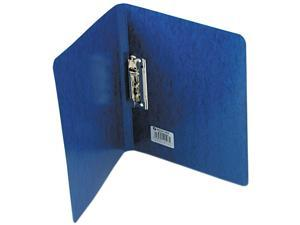 """ACCO 42523 PRESSTEX Grip Punchless Binder With Spring-Action Clamp, 5/8"""" Cap, Dark Blue"""