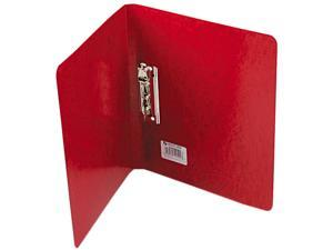 """ACCO 42529 PRESSTEX Grip Punchless Binder With Spring-Action Clamp, 5/8"""" Capacity, Red"""