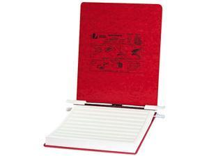 ACCO 54119 Pressboard Hanging Data Binder, 9-1/2 x 11 Unburst Sheets, Executive Red