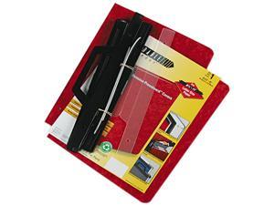 ACCO 55261 3-Hole Laser Printer Hanging Expandable Binder, 8-1/2 x 11, Red