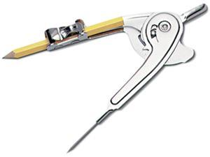 "Charles Leonard 77360 Ball Bearing Compass, 12"" Maximum Diameter, Metal"