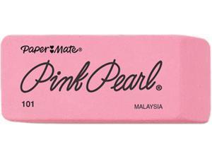 Paper Mate 70502 Pink Pearl Eraser Medium 3//Pack