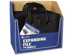 C-line 48211 Expanding File with Handles, Letter, Polypropylene, Clear