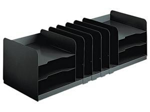 STEELMASTER by MMF Industries 26420HVHABLA Adjustable Organizer, 11 Sections, Steel, 30 x 11 x 8 1/8, Black
