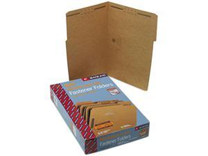Smead 19837 17 Point Kraft Folders, Two Fasteners, 1/3 Cut Top Tab, Legal, Brown, 50/Box