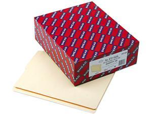 Smead 24128 Folders, 1/2 Cut Bottom, Reinforced End Tab, Letter, Manila, 100/Box