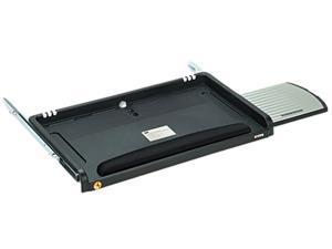 3M MMMKD45 Under Desk Keyboard Drawer, 23w x 14d, Black