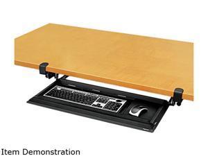 Fellowes 8038302 Designer Suites DeskReady Keyboard Drawer, 19-3/16w x 9-13/16d, Black Pearl