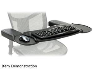 Mobo  MECS-BLK-001 Chair Mount Ergo Keyboard and Mouse Tray System