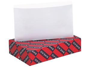Smead 68185 Self-Adhesive Poly Pockets, Top Load, 9 x 5-9/16, Clear, 100/Box
