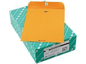 Quality Park 37787 Clasp Envelope, 8 3/4 x 11 1/2, 32lb, Light Brown, 100/Box