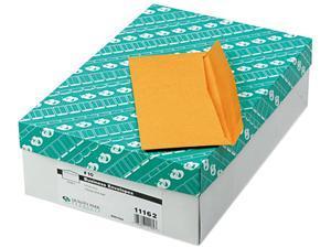 Quality Park 11162 Kraft Envelope, Contemporary, #10, Light Brown, 500/Box
