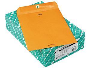 Quality Park 37793 Clasp Envelope, 9 1/2 x 12 1/2, 32lb, Light Brown, 100/Box