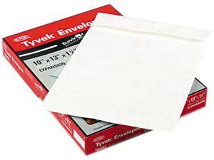 SURVIVOR R4202 Tyvek Expansion Mailer, 10 x 13 x 1 1/2, White, 25/Box