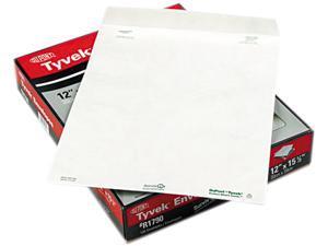 SURVIVOR R1790 Tyvek Mailer, Side Seam, 12 x 15 1/2, White, 100/Box