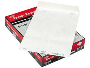 SURVIVOR R1660 Tyvek Mailer, Side Seam, 10 x 15, White, 100/Box