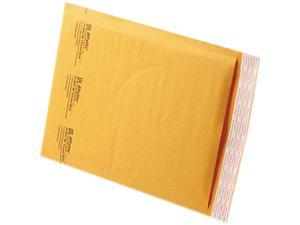 Sealed Air 39093 Jiffylite Self-Seal Mailer, Side Seam, #2, 8 1/2 x 12, Golden Brown, 100/Carton
