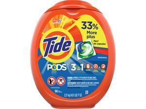 Tide 80145EA Detergent Pods, Tide Original Scent, 96/Tub