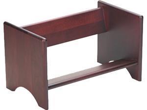 Carver 09753 Binder Rack, Wood, 17 1/4 x 10 x 10, Mahogany Finish