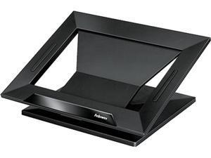 Fellowes 8038401 Designer Suites Laptop Riser, 13 1/8 x 11 1/8 x 4, Black