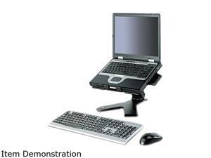 3M LX600MB Easy Adjust Notebook Riser, 15 3/4 x 15 3/4 x 5, Black