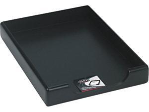 Rolodex 62546 Wood Tones Legal Desk Tray, Wood, Black