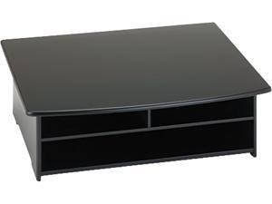 Rolodex 82431 Wood Tones Printer Stand, 21 x 18, Black